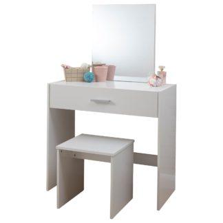 An Image of Julia Dressing Table Set White