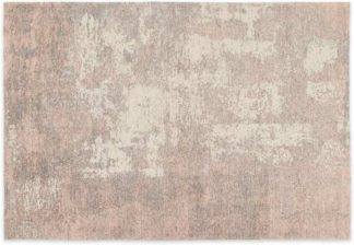 An Image of Genna Rug, Extra Large 200x300cm, Dusky Pink