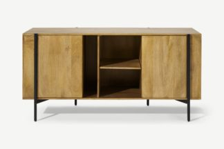 An Image of Morland Wide Sideboard, Light Mango Wood