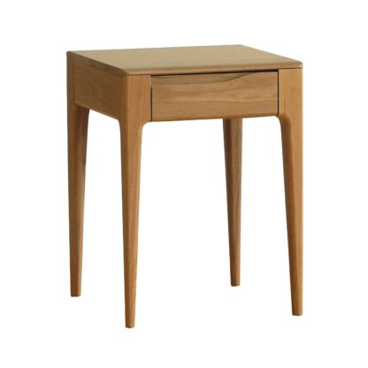 An Image of Ercol Romana Lamp Table Dead Matt Oak