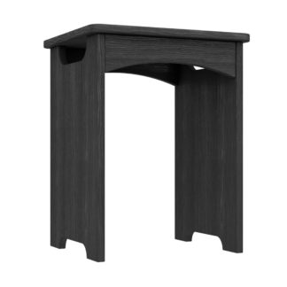 An Image of Ethan Graphite Stool Grey