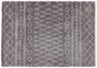 An Image of Freda Rug, Large 160 x 230cm, Charcoal Grey