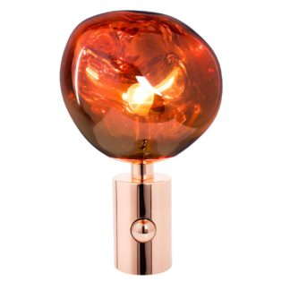 An Image of Tom Dixon Melt Table Light Copper
