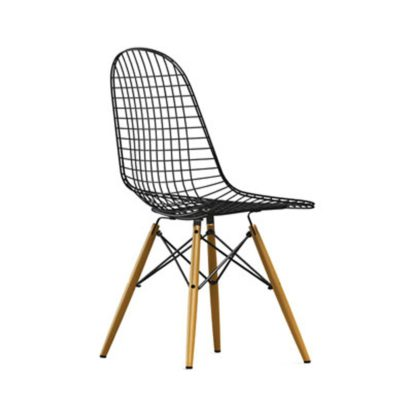An Image of Vitra Wire Chair DKW Light Maple