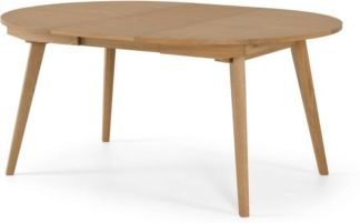 An Image of Wingrove 4-6 Seat Round to Oval Extending Dining Table, French Oak