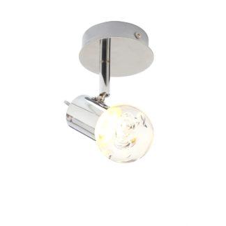 An Image of Spa Bubble LED Bathroom Spotlight Chrome