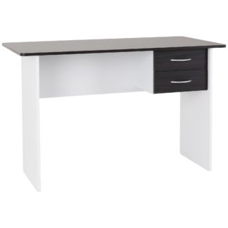 An Image of Jenny Desk Brown and White