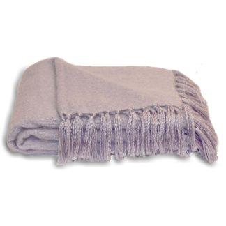 An Image of Chiltern 127x180cm Throw Heather (Purple)