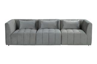 An Image of Essen Three Seat Sofa – Dove Grey