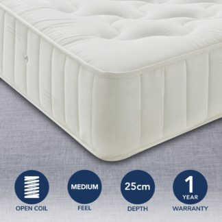 An Image of Pine Rest Quilted Mattress White