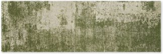 An Image of Genna Jacquard Runner, 66 x 200cm, Green
