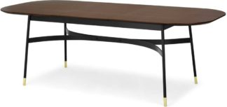 An Image of Amalyn Double Extending Table, Walnut