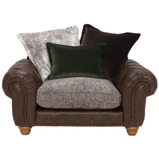 An Image of Melville Pillow Back Snuggle Chair