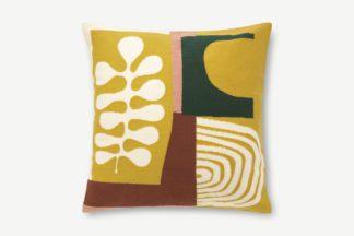 An Image of Onadowan Embroidered Cushion, 50 x 50cm, Multi