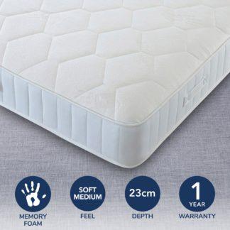 An Image of Comfort Master Memory Mattress White