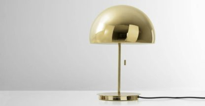 An Image of Collet Dome Table Lamp, Brass