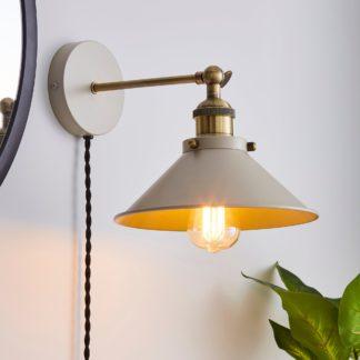An Image of Logan Plug-in Wall Light Mushroom