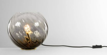 An Image of Ilaria Table Light, Dusky Olive