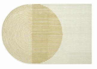 An Image of Gandia Blasco Ply Rug Yellow 204 x 300cm