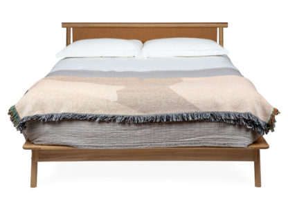 An Image of Heal's Eden King Size Bed Tan Leather