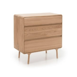 An Image of Fawn Chest of Drawers Oak