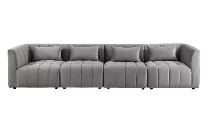 An Image of Essen Four Seat Sofa – Dove Grey