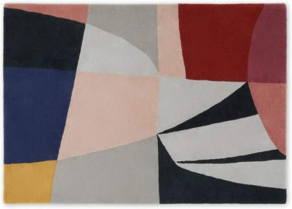 An Image of Nighy Handtufted Wool Rug, Large 160 x 230cm, Multi