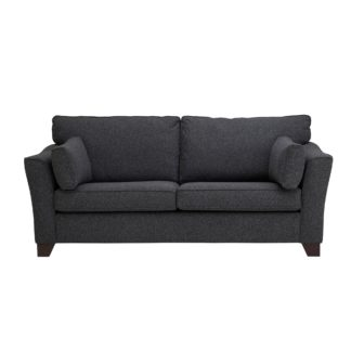 An Image of Grayson 3 Seater Sofa Grey