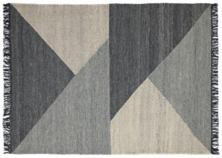 An Image of Linie Design Skuld Rug Charcoal