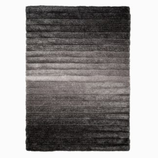 An Image of Verge Ombre Rug Ombre Grey