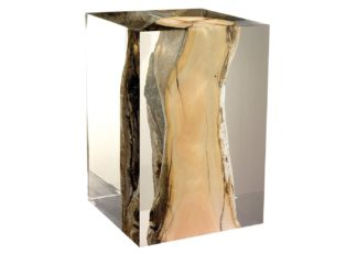 An Image of Timothy Oulton Xylem Sidetable Small Driftwood