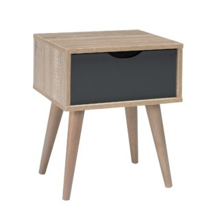 An Image of Scandi Grey End Table Grey