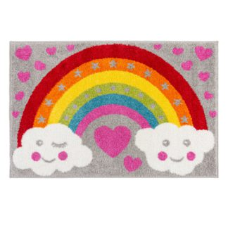 An Image of Rainbow For Heroes Rug MultiColoured