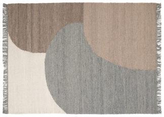 An Image of Linie Design Eik Rug Grey