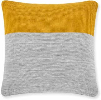 An Image of Digby 100% Cotton Knitted Cushion 50x50cm, Multi