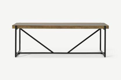 An Image of Morland Dining Bench, Mango Wood