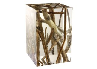 An Image of Timothy Oulton Spur Side Table Small Driftwood