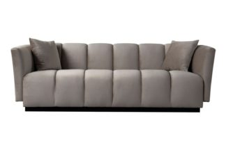 An Image of Herbie Three Seat Sofa - Taupe