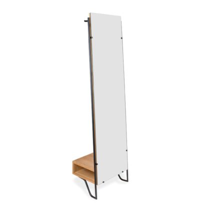 An Image of Heal's Brunel Lean Mirror With Hanging Space