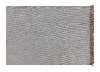 An Image of Gandia Blasco Garden Layers Rug Diagonal Almond Blue