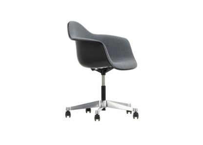 An Image of Vitra PACC Light Grey Upholstered Shell