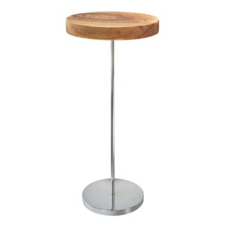 An Image of Ligne Roset Chanterelle Walnut Occasional Table