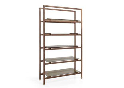 An Image of Wewood Float Bookshelf Walnut
