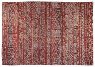 An Image of Louis de Poortere Kilim Rug Fez Red 170 x 240cm