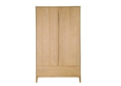 An Image of Ercol Rimini 2-Door Wardrobe