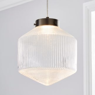 An Image of Orb LED Pendant Ceiling Fitting Clear