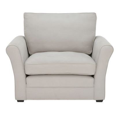 An Image of Berkeley Fabric Fixed Cover Snuggle Chair
