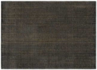 An Image of Johson Luxury Rug, Extra Large 200 x 300cm, Charcoal Grey & Gold