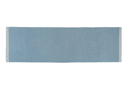 An Image of Linie Design Whitfield Runner Blue