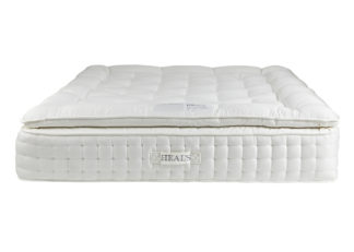 An Image of Heal's Classic Natural Pillowtop Mattress 2800 King